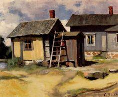 Kuva albumissa EERO JÄRNEFELT - Google Kuvat.  RETRETTI,  Mökkejä 1911.  SYP:N kokoelmat.  Kuva: Seppo Hilpo,  iso kortti.