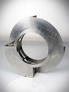 Dana DiPlacido, House bracelet, 2011, stainless steel