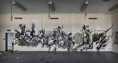 https://flic.kr/p/AZkCRV | Plea Dem Cruel | Graffiti art by Plea, Dem189 and Cruel