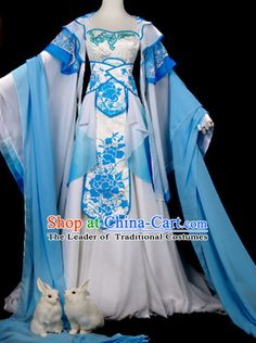 Ancient Chinese Princess Dance Costumes Dresses Hanzhuang Han Fu Han Clothing Traditional Chinese Dress Hanfu National Costume Complete Set for Women or Girls