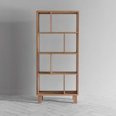 Perch & Parrow | Webster wooden Shelving Unit