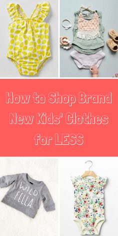 Get a jump start on growth spurts without breaking the bank! Shop brand new kids' clothing, from top brands like Gap Kids, Carter's, Gymboree and more, at up to 70% off. Tap to download the free app, and see what savings you'll discover.