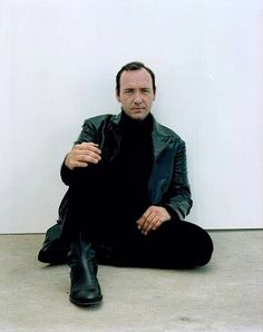 Kevin Spacey rockin' the leather in 1996