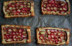 Rhubarb Tartlets Recipe | mostly foodstuffs