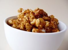 Homemade Cracker Jacks - One of our favorite sweet treat recipes (I leave out the peanuts)