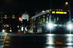 Monochrome Cycling Jacket Glitters Reflective Light At Night [Video] - PSFK