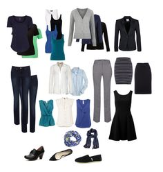 This totally is my ideal wardrobe (minus the 2 shoes on the left, which is replace with boots and some other flat shoe)