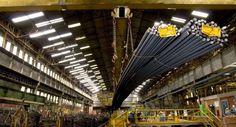 Unidade de laminação da Planta Industrial da Gerdau - Leo Drumond/Agencia Nitro