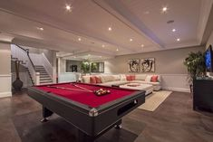Home Staging - Pacific Palisades, CA - contemporary - Basement - Los Angeles - | MARSHALL DESIGN GROUP |