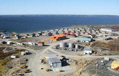 Village of Puvirnituq Povungnituk  Quebec Nunavik tourism