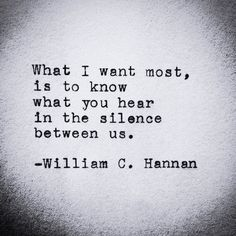 charming life pattern: william c. hannan - quote - what I want most is to...