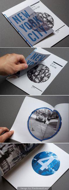 New York City layout design … New Yorker Layoutgestaltung Mehr Leaflet Layout, Leaflet Design, Collage Design, Print Design, Front Cover Designs, City Branding, Magazin Design, Printing And Binding, Buch Design