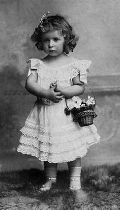 Her Royal Highness Princess Geneviève of Orleans (1901-1983). So sweet.