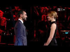 Marco Mengoni and Paola Cortellesi at #LauraePaola RAi1 April 1, 2016 Monologue…