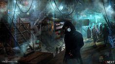 Tunnel City by ianllanas.★ We recommend Gift Shop: http://gosstudio.com ★ #Cyberpunk #Art #gosstudio