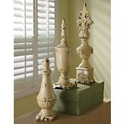 Finials  Would love some in my living room!!!!!