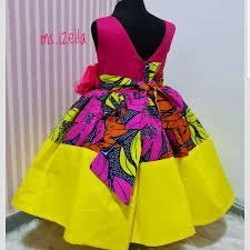 Baby African Clothes, African Dresses For Kids, Latest African Fashion Dresses, Dresses Kids Girl, Kids Outfits, Nigerian Outfits, African Fashion Traditional, African Print Dress Designs, Baby Dress Design