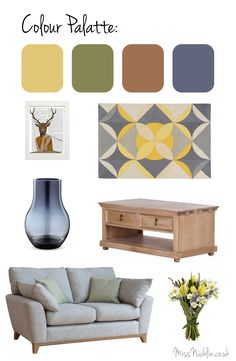 Spring Living Room Inspiration* | Miss Nicklin | A South Wales Lifestyle, Food…
