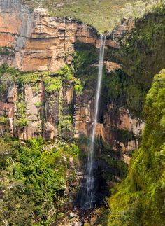 Blue Mountains of Australia Photos Govetts Leap Waterfall near Blackheath overlooking the majestic Blue Mountains NSW Australia by Backyard Stock Australia Photos, Blue Mountain, Waterfall, Stock Photos, Country Roads, Waterfalls