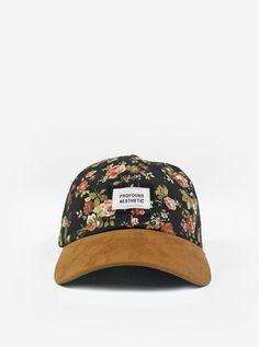 581feb0a16520 Portland Rose Floral Cap Rose Hat