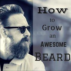 how to make beard grow quicker