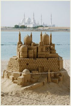 Bringing your shovel and pail to the beach this summer? The competition has gotten mighty stiff. 01. World's Tallest Sand Castle – New Jersey