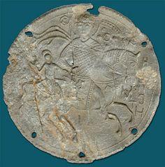 Pilgrim medallion.  12th-13th cc.