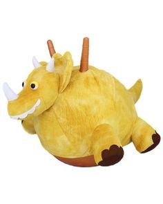 Save $30.00 on Jumping Triceratops Plush Hopper Ball; only $29.99 + Free Shipping