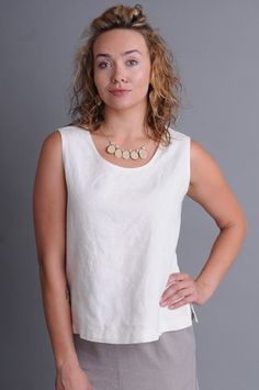 Hemp/Tencel top layers beautifully beneath, yet offers enough coverage to wear alone. Handcrafted in the US from an Earth-friendly Hemp and Tencel blend, this top represents the best in sustainable clothing. Ethical Clothing, Travel Clothing, Best Tank Tops, Sustainable Clothing, Hemp, How To Wear, Clothes, Slow Fashion, Fashion Women