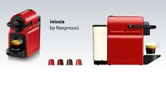 #‎Nespresso‬ ‪#‎Inissia‬ with its range of pop-art ‪#‎colours‬,Inissia will even make you want to repaint your walls.