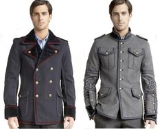 Art Military Jackets - Military Inspired jackets gracie-opulanza-men-s-fashion Rugged Style, Jacket Style, Jeans Style, Look Fashion, Mens Fashion, Party Fashion, High Fashion, Fashion Designer Quotes, Military Looks