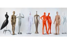 Pucci mannequins over the decades. Museum of Arts and Design Sets Exhibit of Pucci Mannequins,