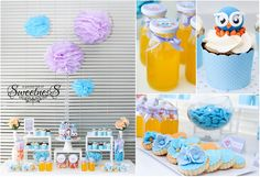 Giggle and Hoot party. So cute 1st Birthday Parties, 2nd Birthday, Masons, Party Planning, First Birthdays, Party Time, Projects To Try, Cake Pops, Party Ideas