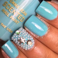 Under the sea by bdettenails on Instagram