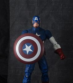Marvel Select Custom Captain America 7.5 inch not marvel legends scale