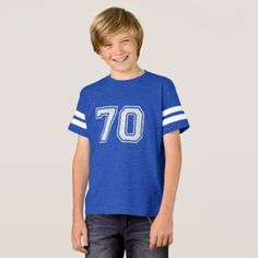 Number 70 (1-99) T-Shirt - birthday gifts party celebration custom gift ideas diy