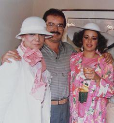 CLARA VÉLEZ HOYOS, FRANCISCO VELASCO Y BEATRIZ SALAZAR.  DICIEMBRE DE 1985.