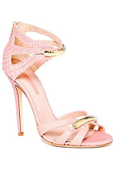 Can't get enough of pink and beautiful shoes! <3 Elie Saab