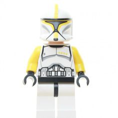 Lego Star Wars Figur Clone Trooper Commander Baukästen & Konstruktion LEGO Minifiguren sw481, Set 75019 AT-TE