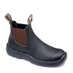 495e341441ef Proper leather shoe from Blundstone. Steel toes and premium oil tanned  leather. Barn Boots