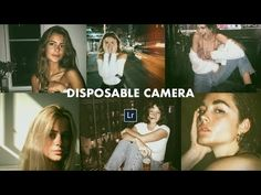 Disposable Camera Effect + Free Lightroom mobile Preset DNG Photo Editing Vsco, Photography Editing, Gopro Photography, Portrait Photography, Nature Photography, Apps Fotografia, Disposable Film Camera, Lightroom Effects, Vintage Lightroom Presets