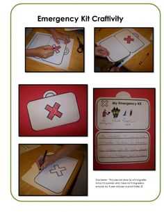 Scaredy Squirrel Literacy Pack craftivity for the emergency kit Student Teaching, Teaching Reading, September Preschool, November, Scaredy Squirrel, Library Lessons, Library Books, Emergent Literacy, Teacher Notebook