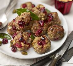 Sausage & cranberry stuffing. Make stuffing balls to serve alongside your Christmas turkey, or cook the mix in a baking dish if you prefer.
