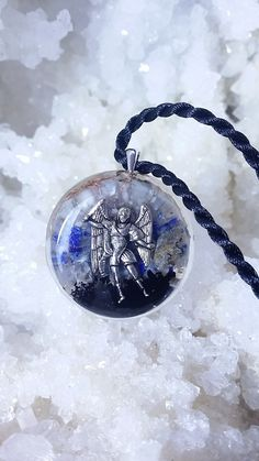 Hey, I found this really awesome Etsy listing at https://www.etsy.com/listing/203015952/orgone-pendant-archangel-michael