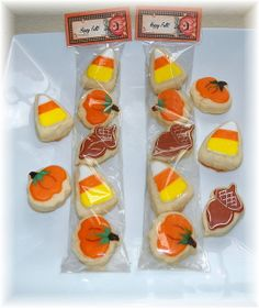 Cookie Party Favors | Fall Cookie Party Favor | Flickr - Photo Sharing!