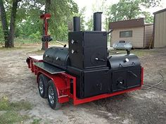 Custom BBQ Trailers, BBQ pits, and custom smokers built in Texas. At East Texas Smoker Co. Bbq Smoker Trailer, Bbq Pit Smoker, Barbecue Pit, Bbq Grill, Grilling, Bar B Que Grills, Best Gas Grills, Custom Bbq Smokers, Custom Bbq Pits