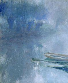apoetreflects:  Painting:Guy Rose,Matin de Novembre, 1910