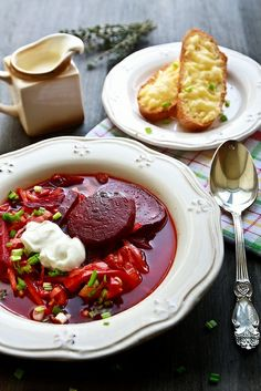 """""""Borsch"""" - is the famous soup in many Russian families, as well as many Eastern and Central European countries. #russian_food #Russian_recipes #Russian_cuisine"""
