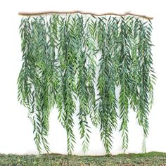 Faux Backdrop Greenery Foliage Branch <br> Faux Backdrop Greenery Foliage Branch is a beautiful decor for your house.