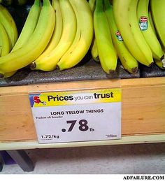 15 marketing faux pas to make you pee your pants - http://unbounce.com/funny/15-epic-marketing-fails/